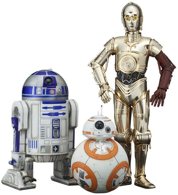 Amazon | コトブキヤ ARTFX+ STAR WARS R2-D2 & C-3PO with BB-8 1/10スケール PV
