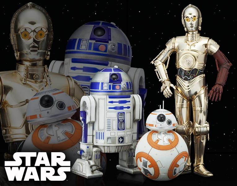 スター・ウォーズ ARTFX+ R2-D2 & C-3PO with BB-8 | フィギュア | KOTOBUKIYA