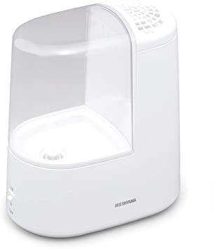 Amazon   アイリスオーヤマ 加湿器 加熱式加湿器 ホワイト SHM-260R1-W   アイリスオ